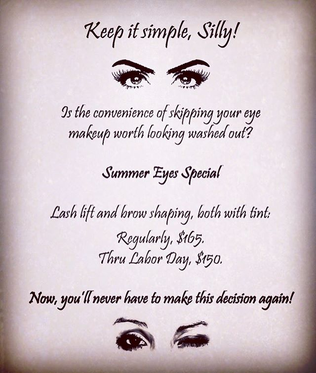 Simple, sexy, summer eyes!
