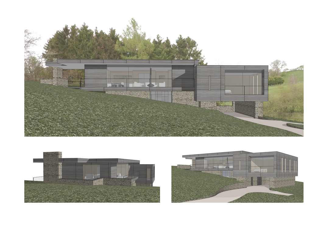 Rural Design Partnership, Contemporary Cotswold Architects, Cirencester, Vineyard House