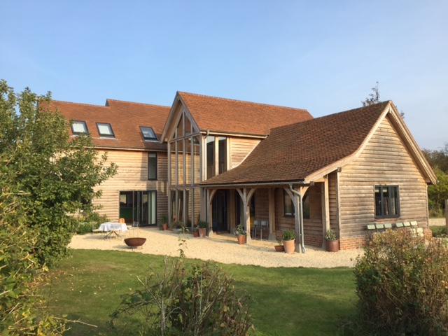 Rural Design Partnership, Contemporary Cotswold Architects, Cirencester, Oak-framed Farmhouse