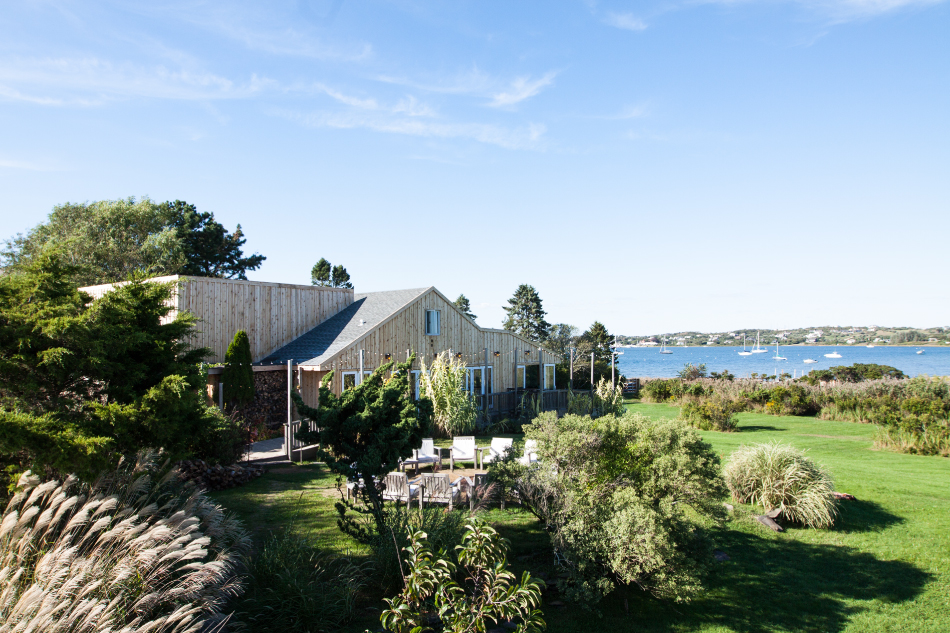 "Conde Nast Traveler - Studio Zung redesigns Sean Macpherson's (The Bowery Hotel, The Ludlow) ""Crow's Nest"" to create boutique hotel in the Hamptons.2013, Read More"