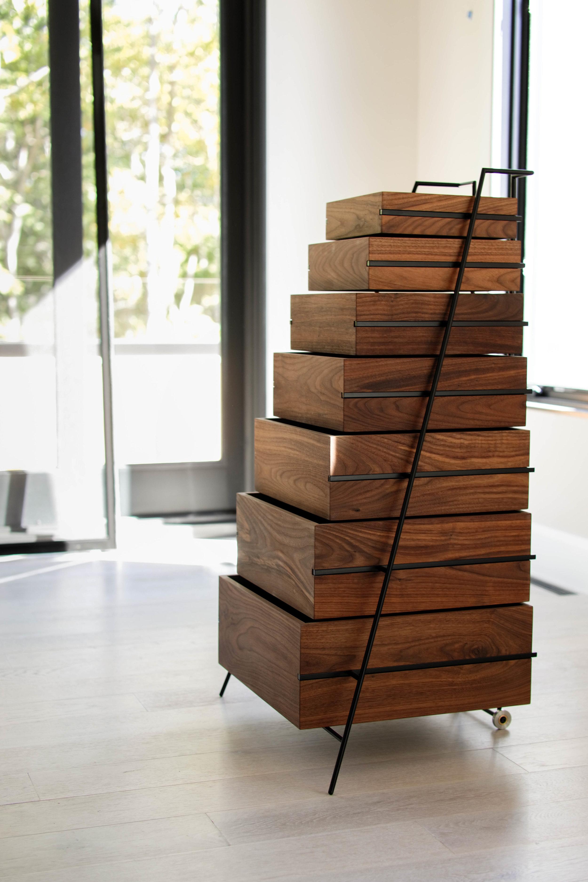 Modern Soho loft vignette