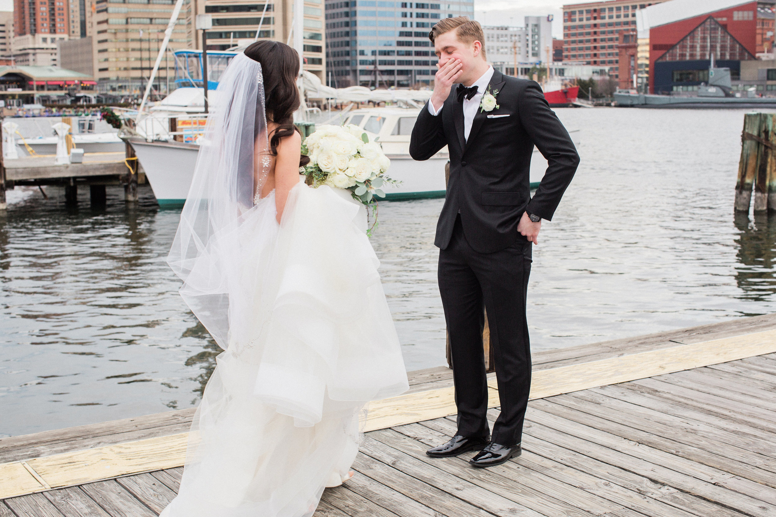 Maryland Wedding First Look