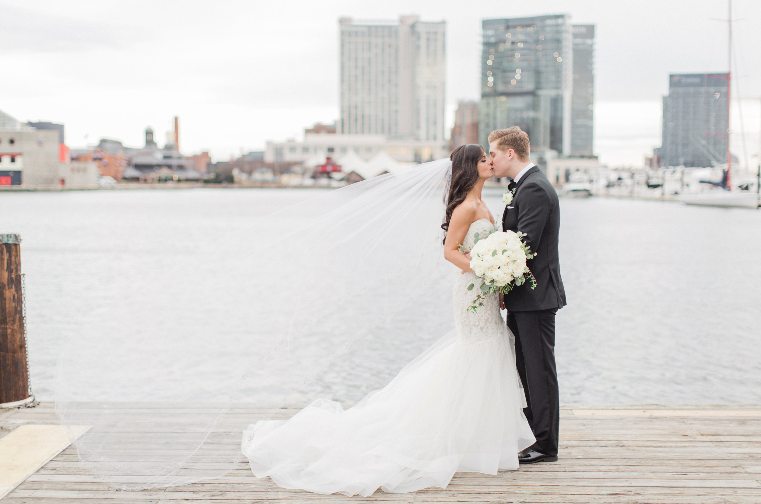 Baltimore Wedding Bride and Groom