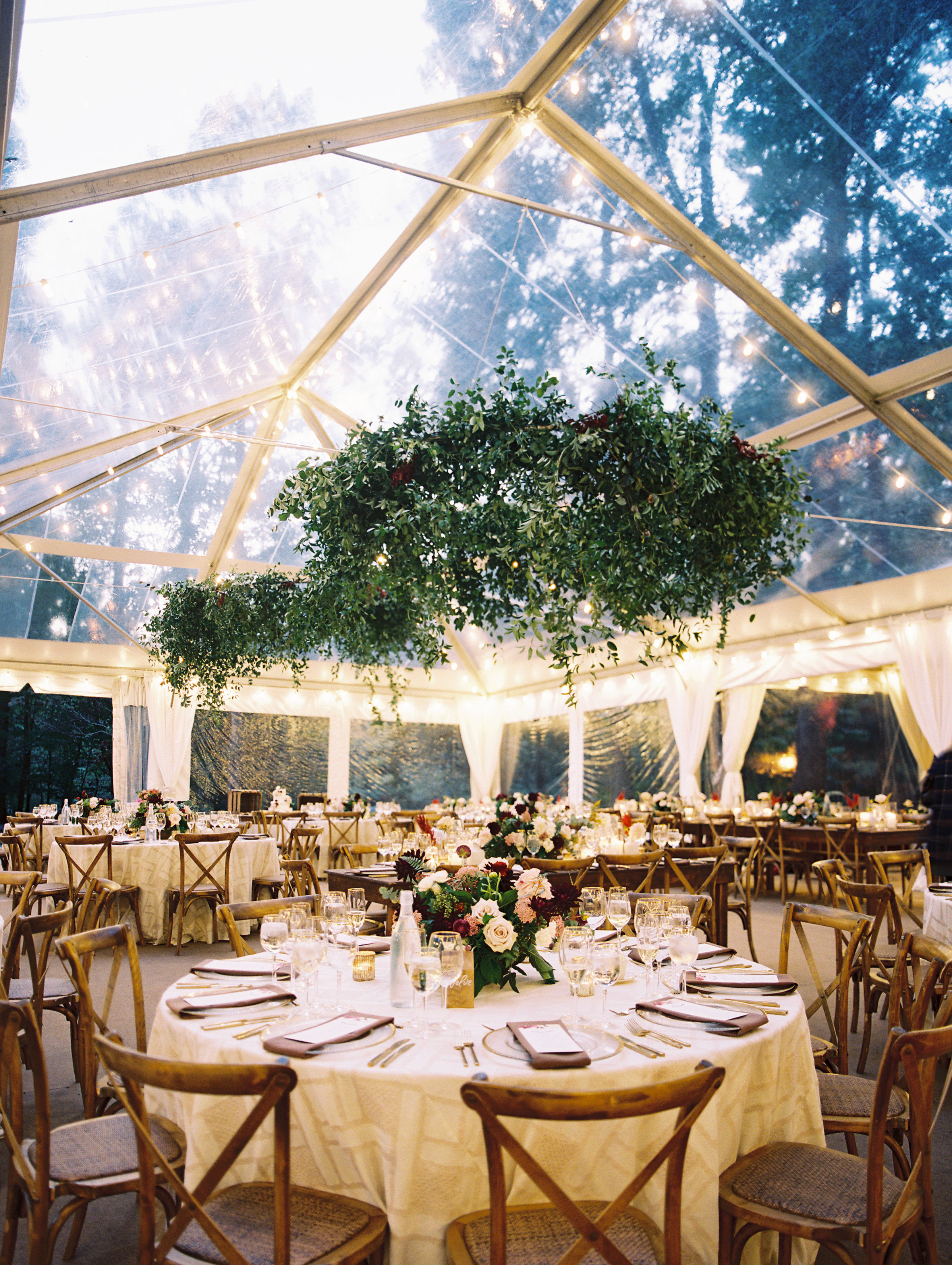 Melissa + Dave's Private Residence Tented Wedding in Bethesda, MD. Photography by Lisa Ziesing for Abby Jiu.