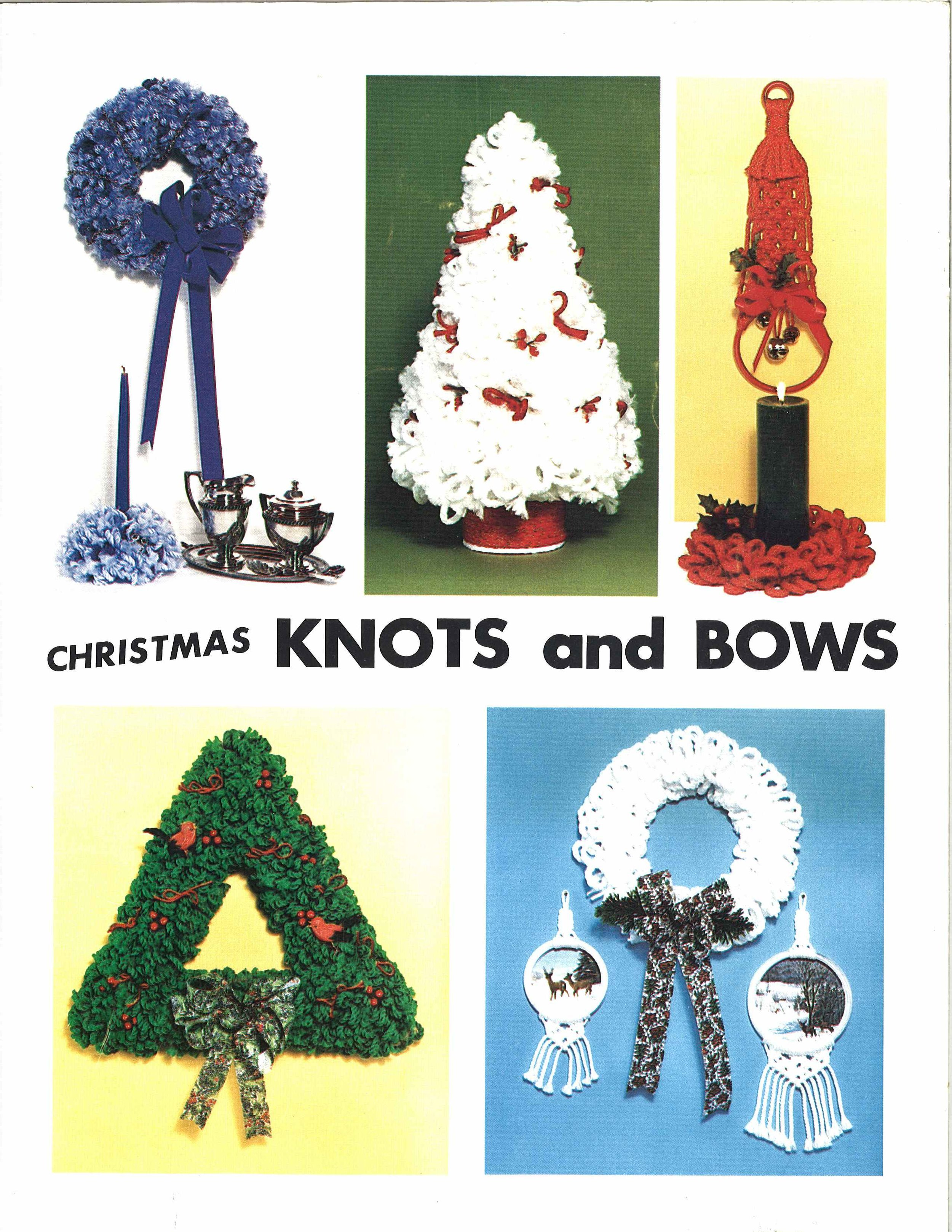 Maxi Christmas 1970/'s Macrame Pattern Book PDF Vintage Patterns