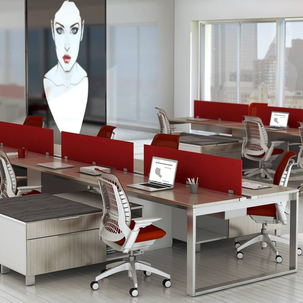 Apex Series - Apex adapts to the activities of individuals and groups, creating a workplace that compels achievement. With multiple modular pieces that can integrate with our signature Maverick series and height adjustable tables, Maverick can join in your ascent. Available in our 20 standard colors.