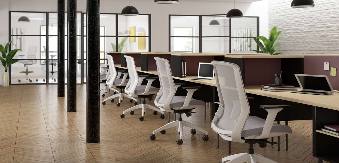 NEO Task - Neo can be defined as having equal parts of style, comfort and value – ideally designed for task, conference and collaborative spaces. Its simple clean design and options make it naturally versatile and effortless to design around.