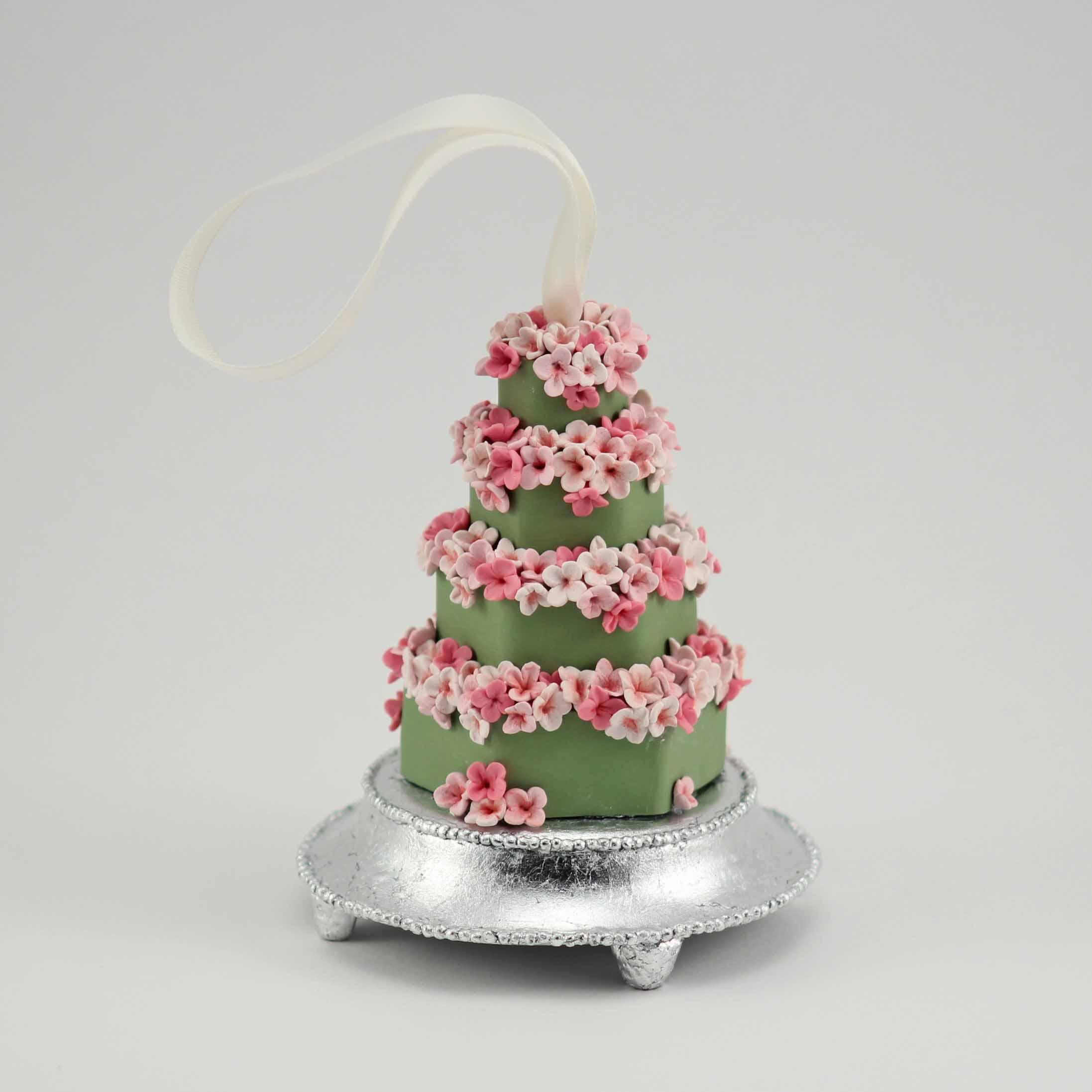 minature replica of a Green and cherryblossom cake.jpg