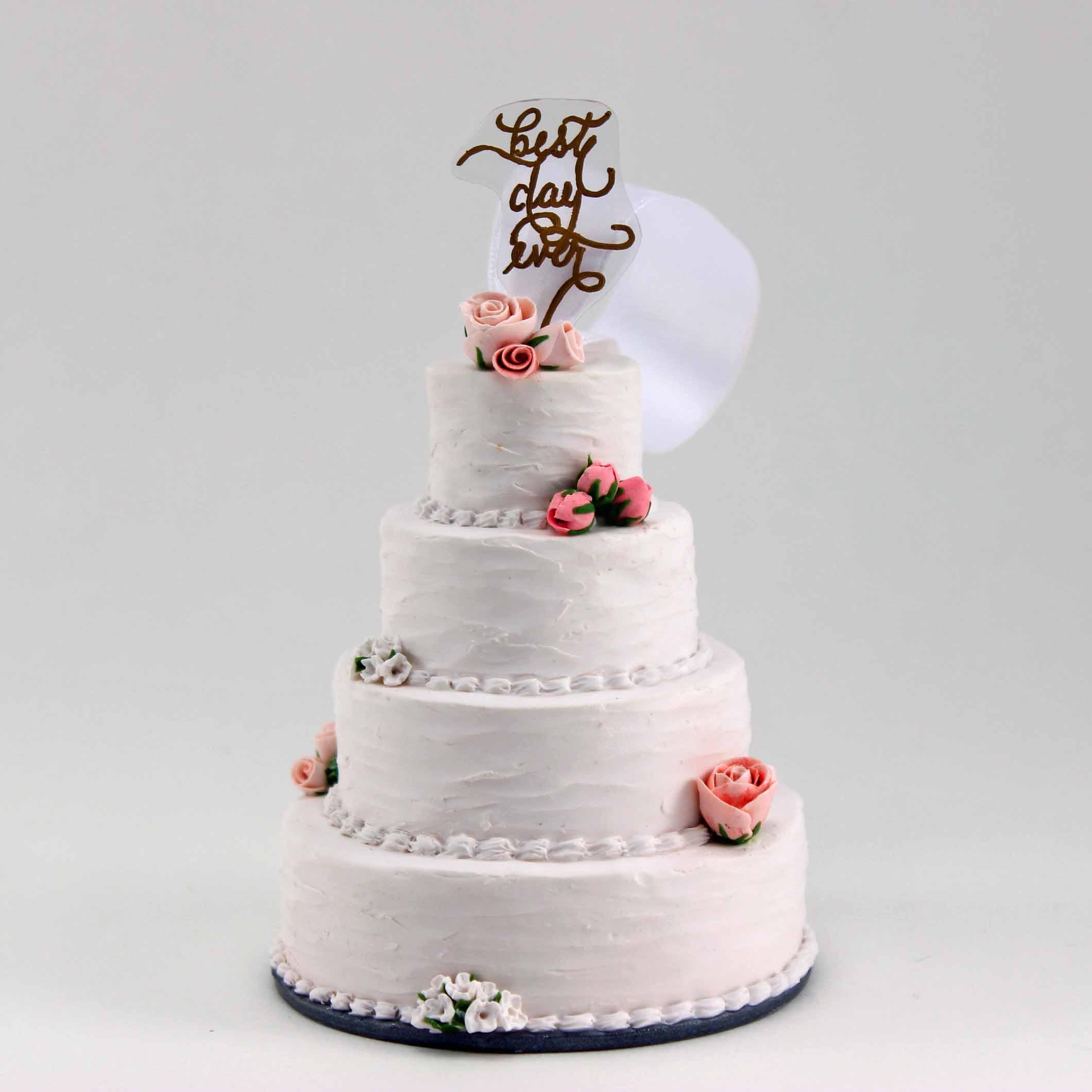 minature replica of best day ever mini wedding cake.jpg