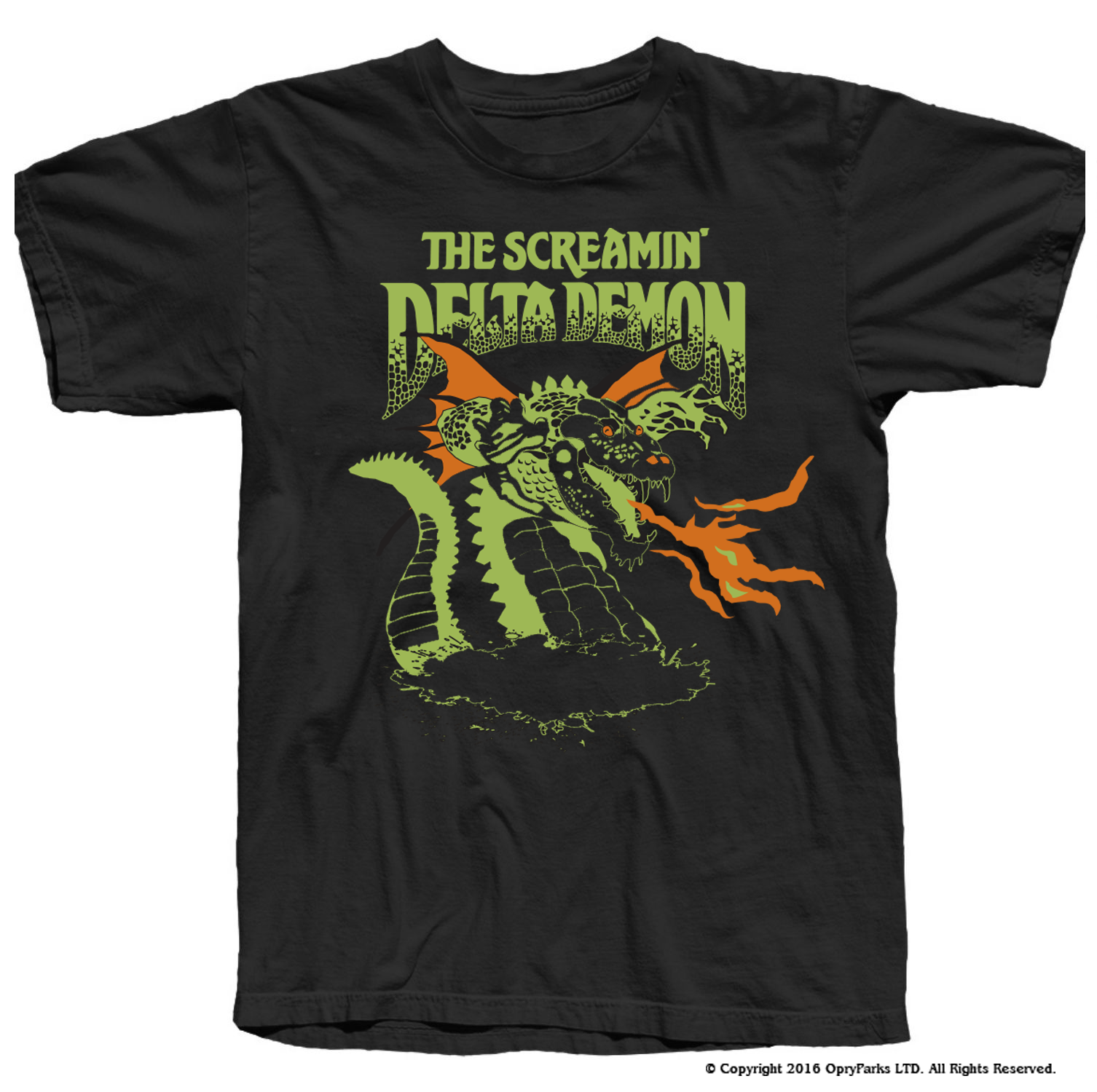 NEW Exclusive Screamin' Delta Demon T-Shirt