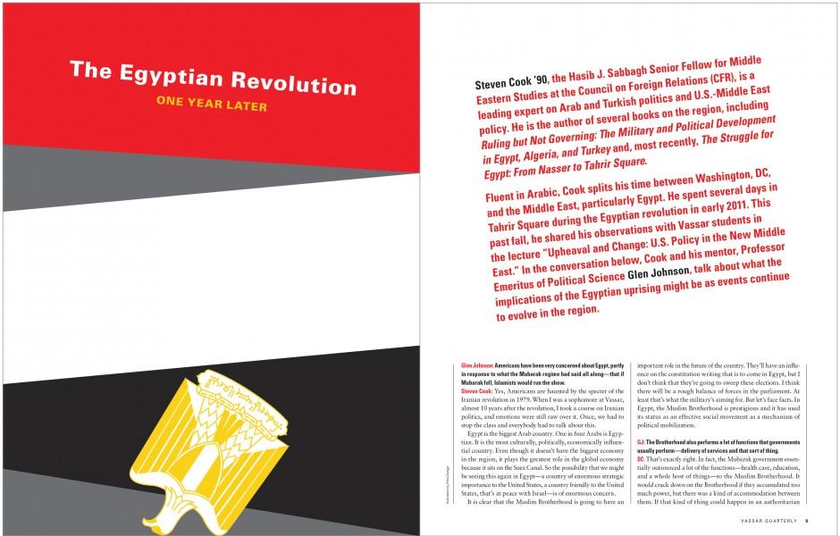 vassar egyptian revolution