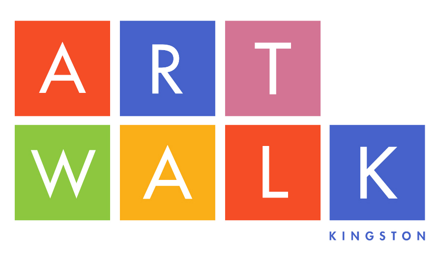 ArtWalk Kingston logo by Carla Rozman