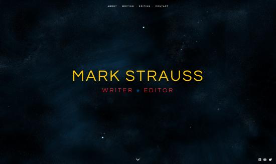Carla-Rozman-Graphic-Design-Mark-Strauss-Washington-DC-Writer-Website Design