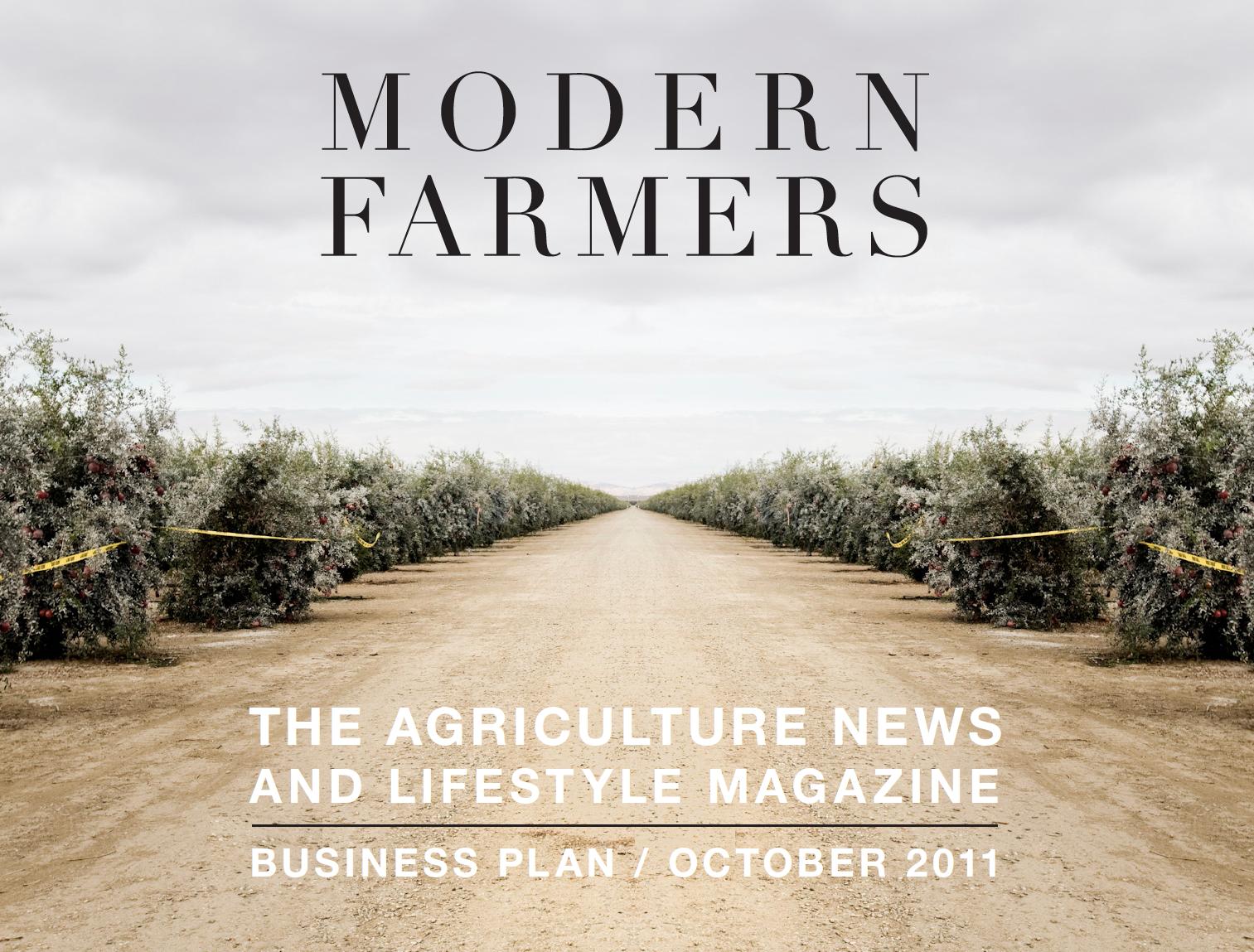 modern farmer business plan