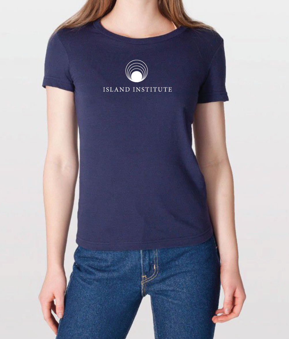 Island-Institute-T-Shirt carla rozman graphic design maine island life