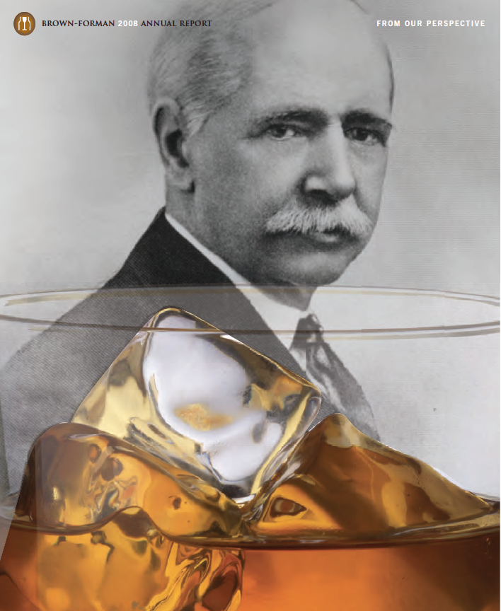 brown forman annual report cover