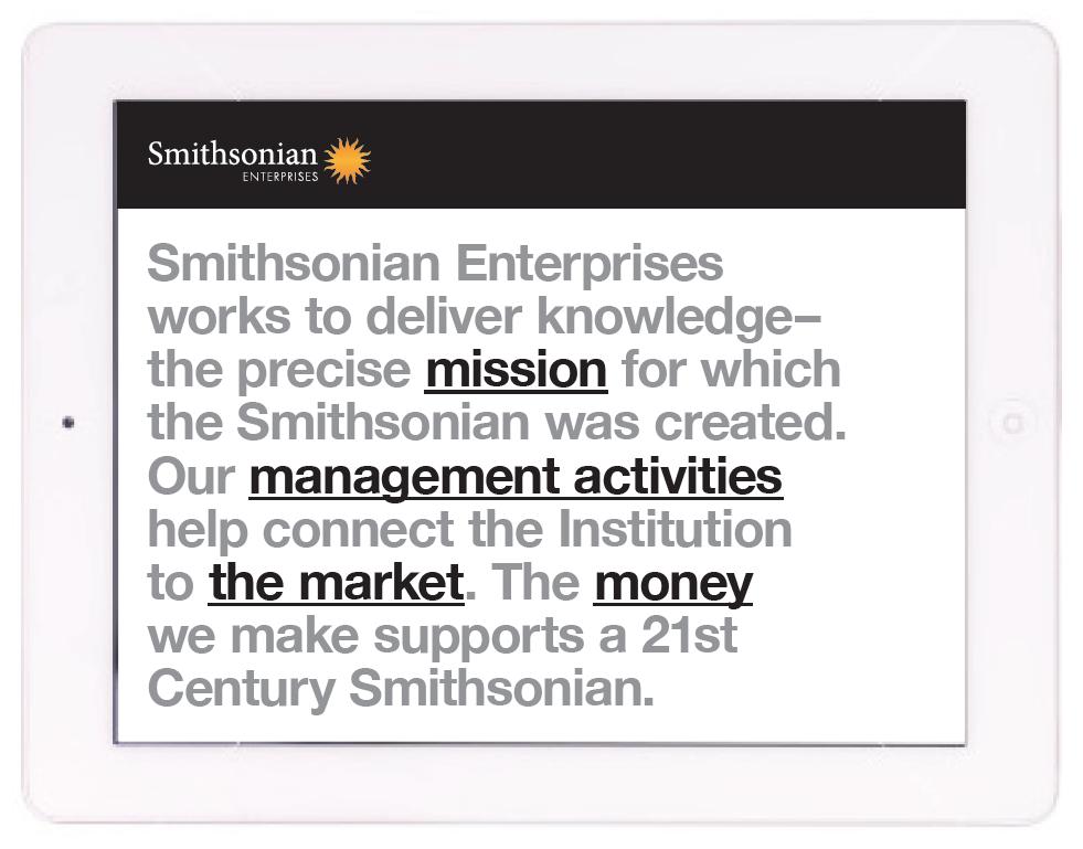 Smithsonian Website Design