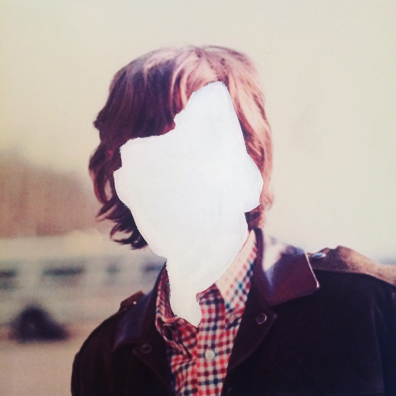 Mick,  acrylic on paper