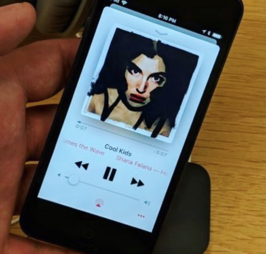 Cool Kids Shana Falana Apple Music Playlist Here Comes the Wave Carla Rozman Album Art.png