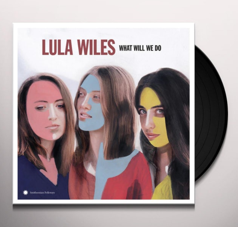 Lula Wiles Smithsonian Folkways Album Cover Painting by Carla Rozman Vinyl Hudson Valley Art Graphic Design.png