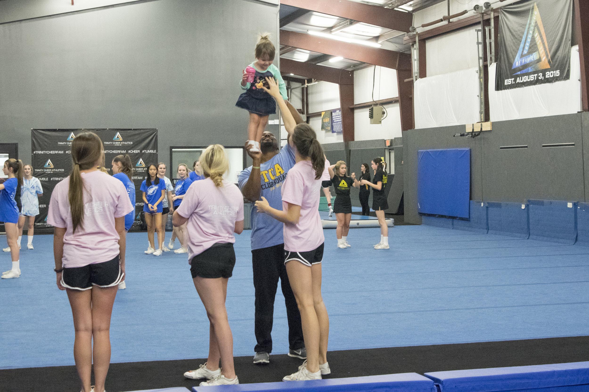 Baby Cheerleader