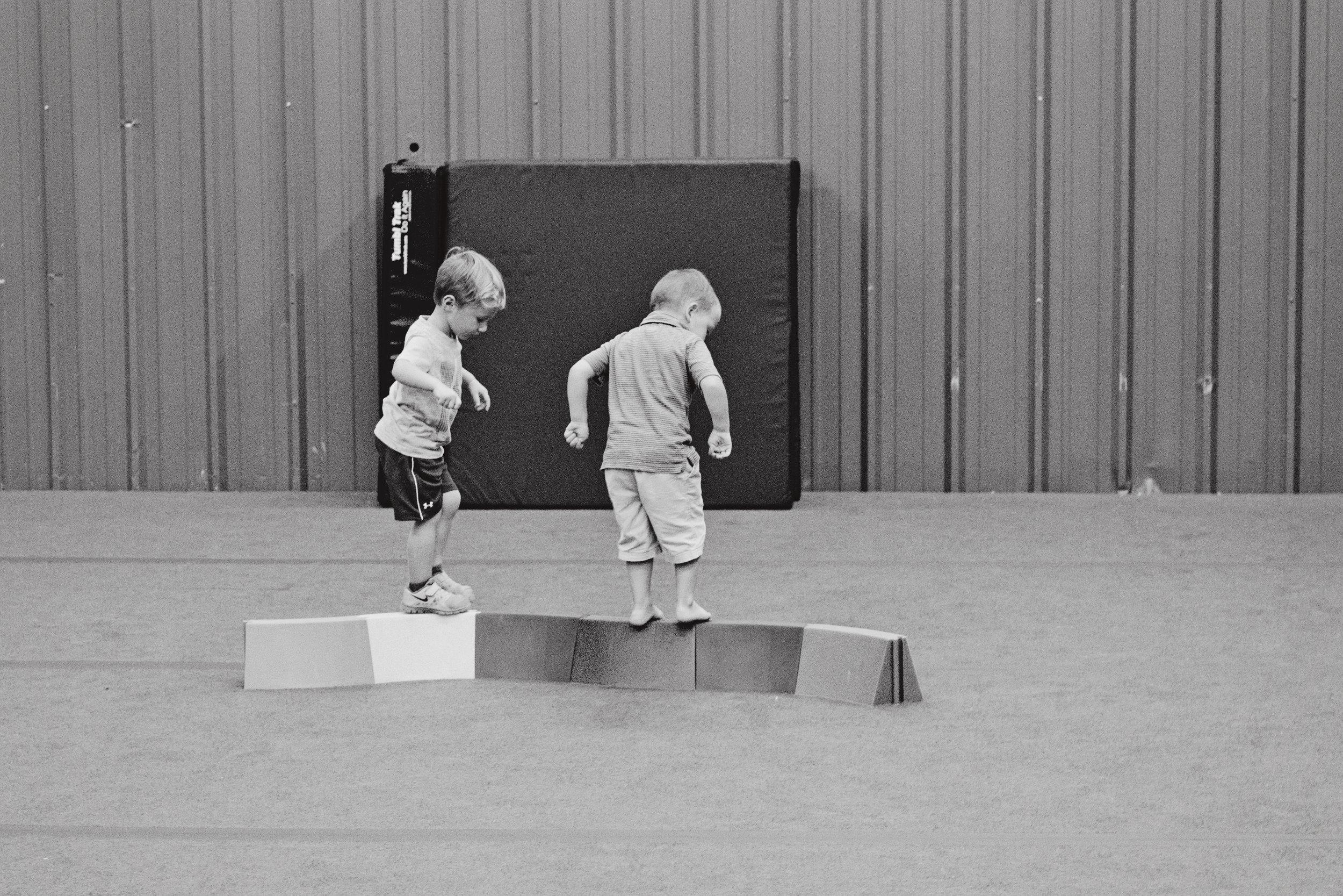 Toddler Balance Drill