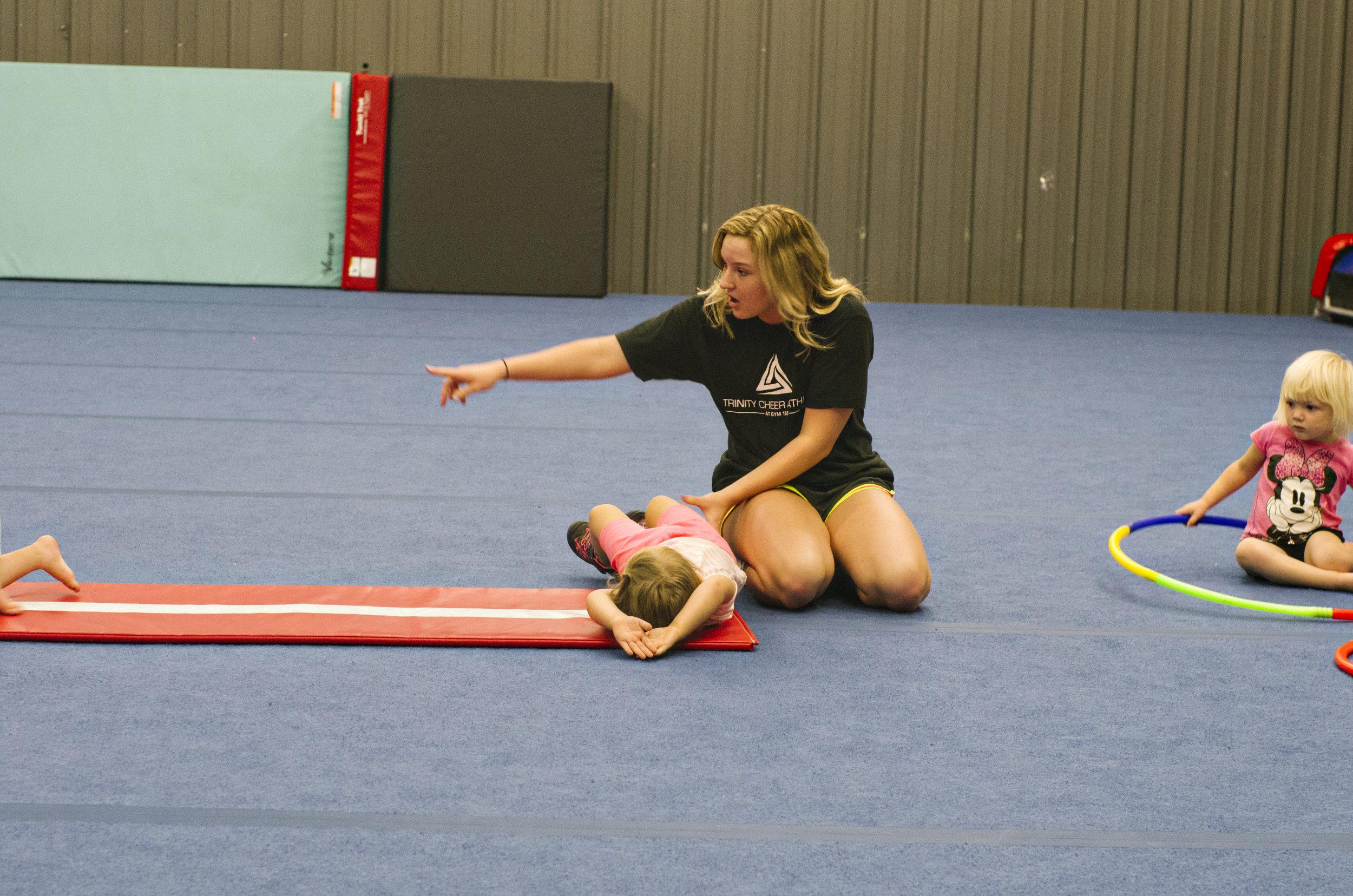 Toddler Tumbling Drills