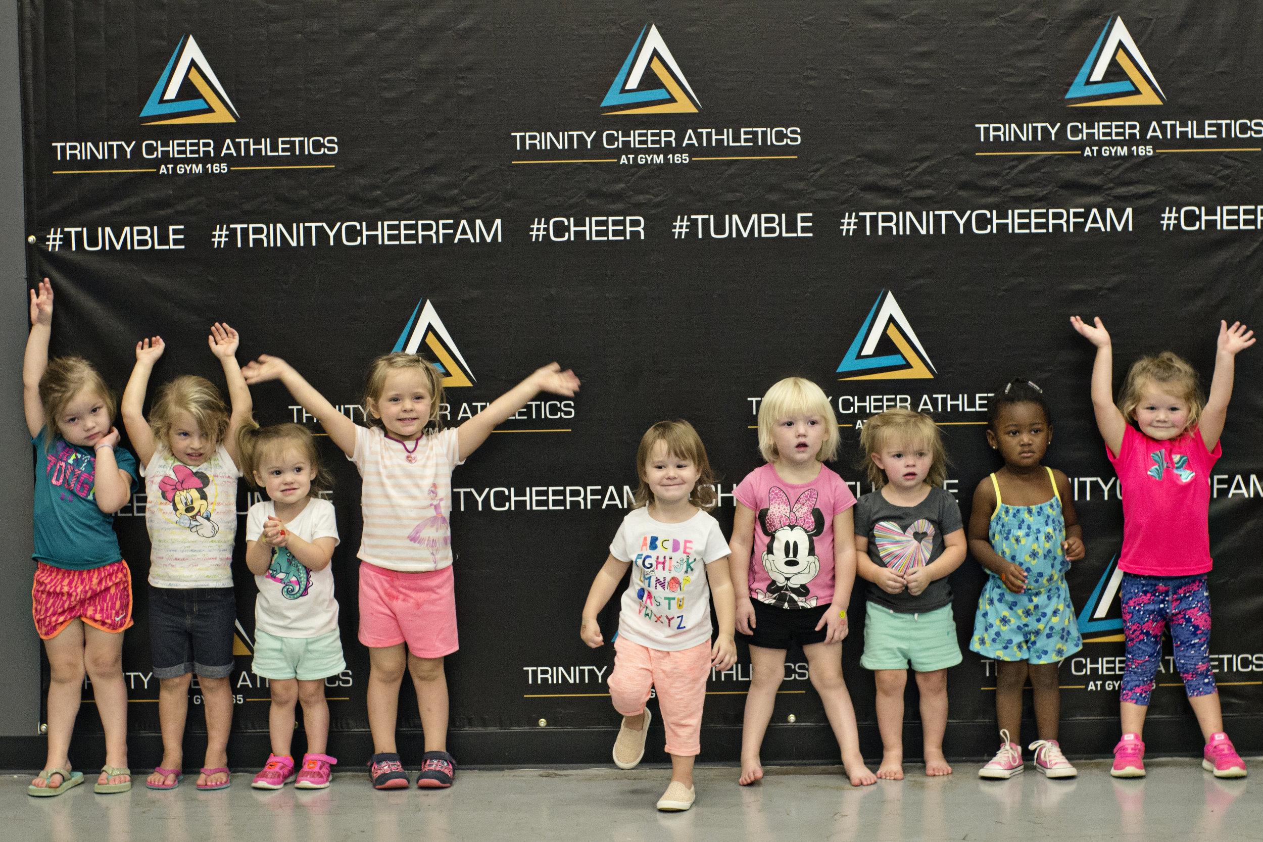 Toddler Girls Tumbling Class
