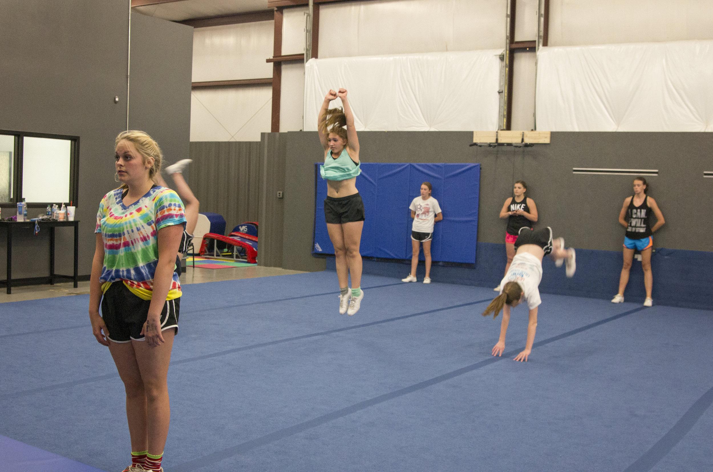 Cheer Drills