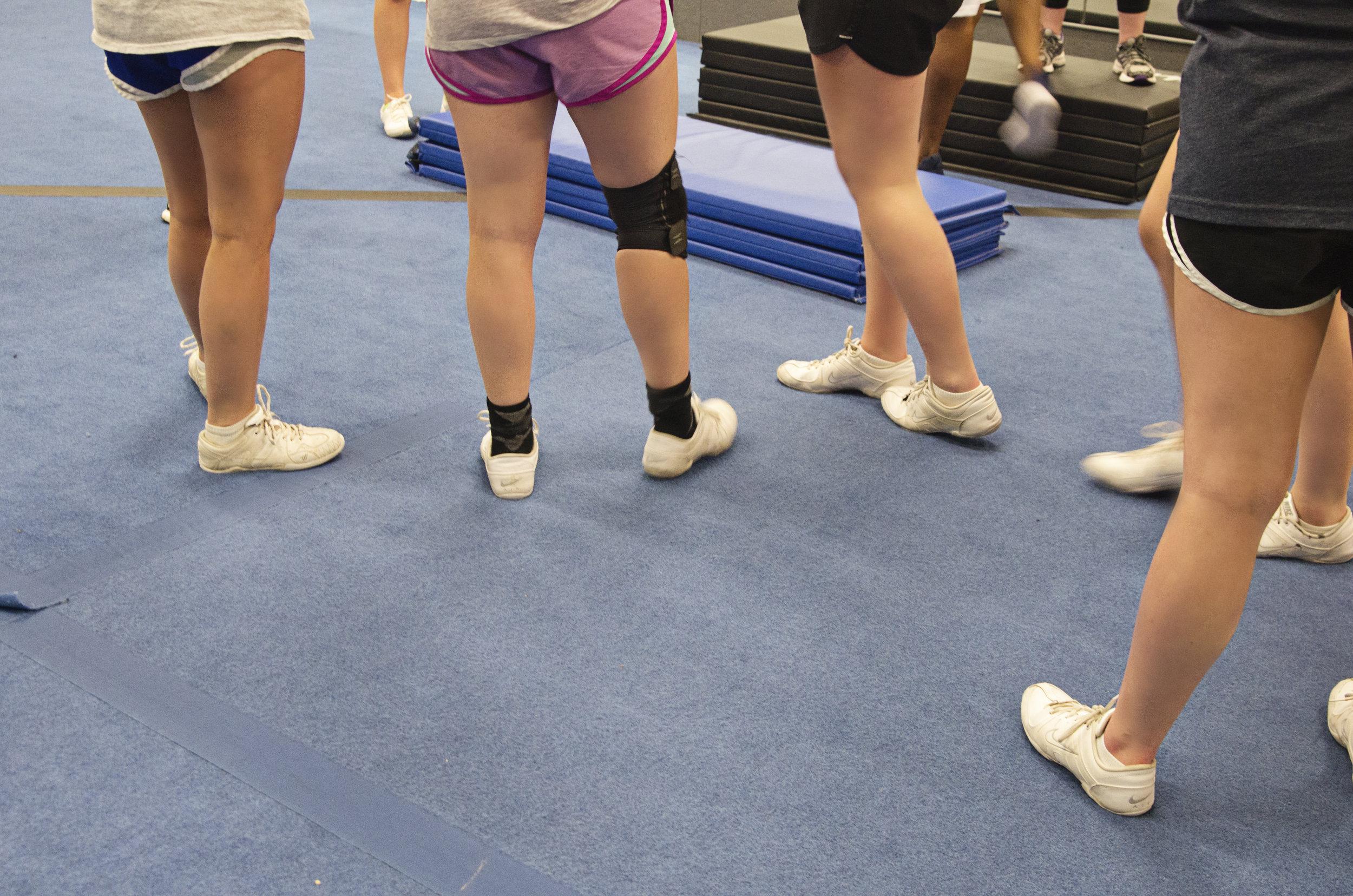 Cheer White Sneakers