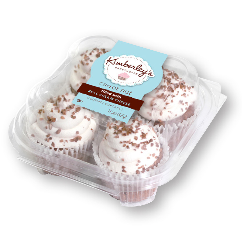 Traderock - Kimberley's Carrot Nut Cupcakes