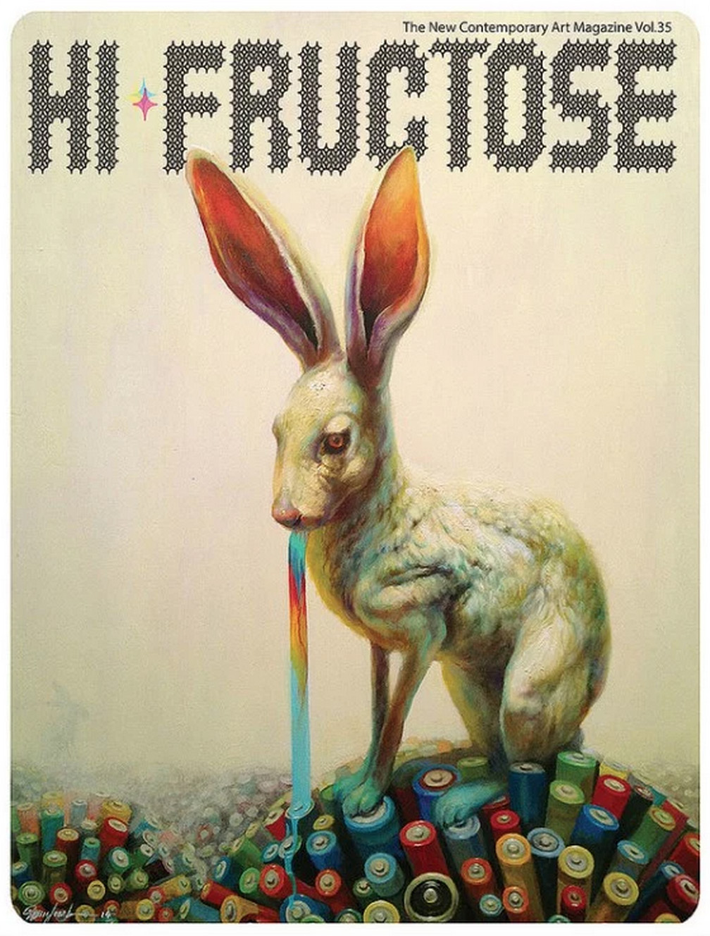 Hi-Fructose Magazine, Artist Feature, article by Jeff Min