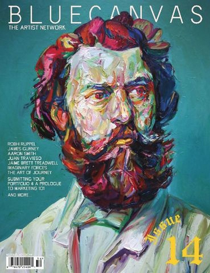 Blue Canvas Magazine, Artist Feature / interview