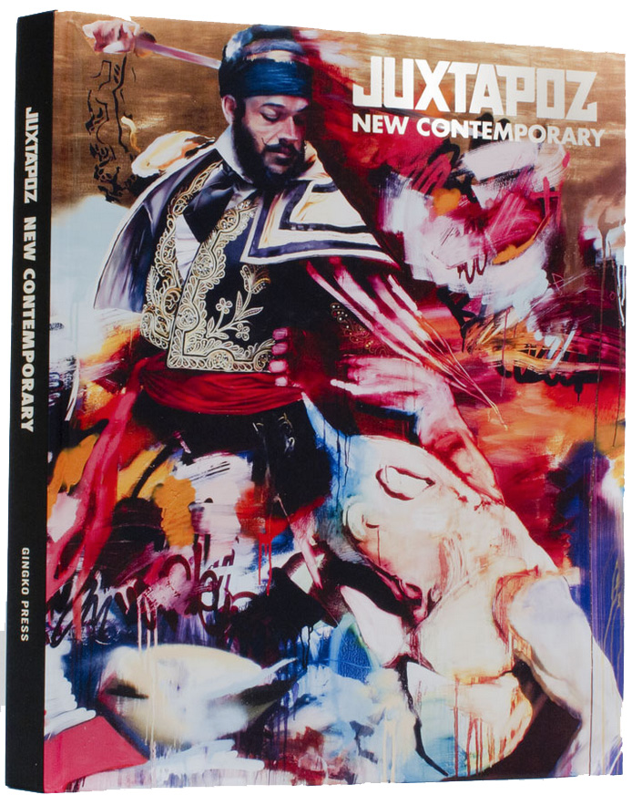 Juxtapoz New Contemporary Book, Artist Feature