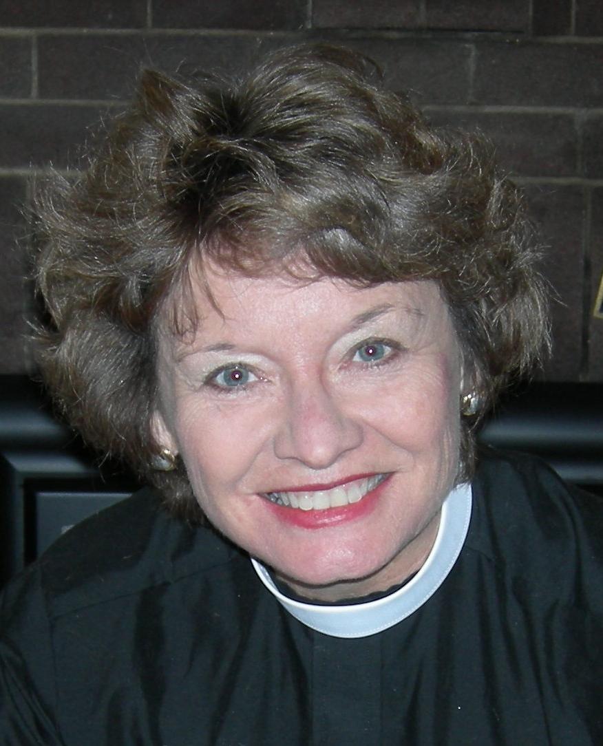 The Rev. Rebecca Jones, priest-in-charge