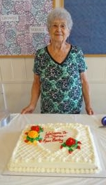 shirley mosher oversees the St. James kitchen