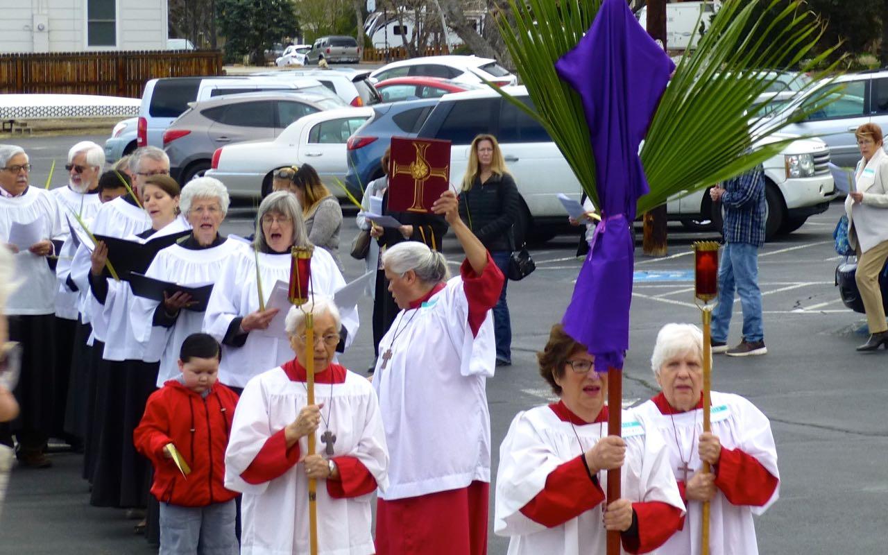 Palm procession heading toward front door.jpg