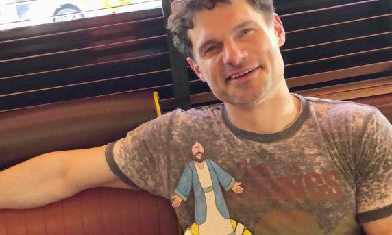 Lunching with Hollywood star Flula Borg