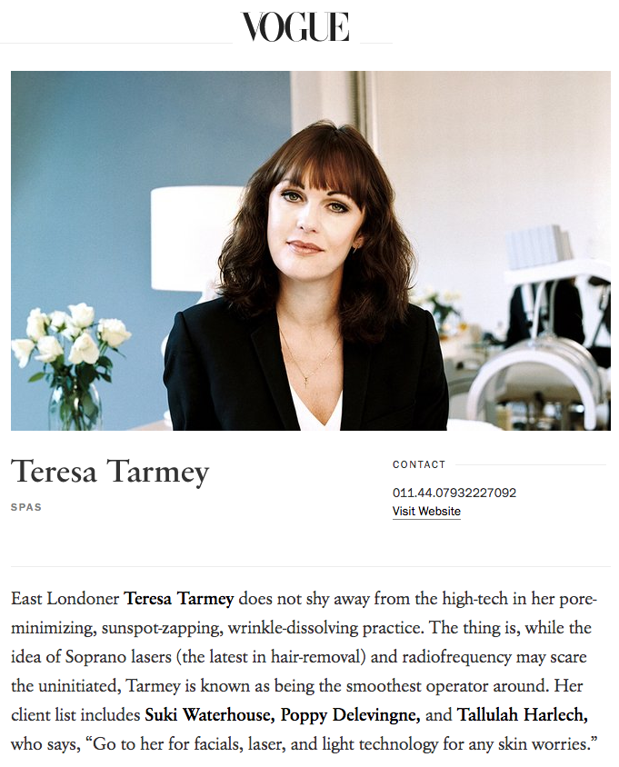Teresa Tarmey   Laser Skin Treatments   London   Vogue copy.png