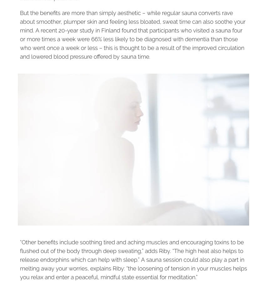 Sweat therapy  why a new breed of saunas have become the latest wellness buzzword   Stylist Magazine.jpg