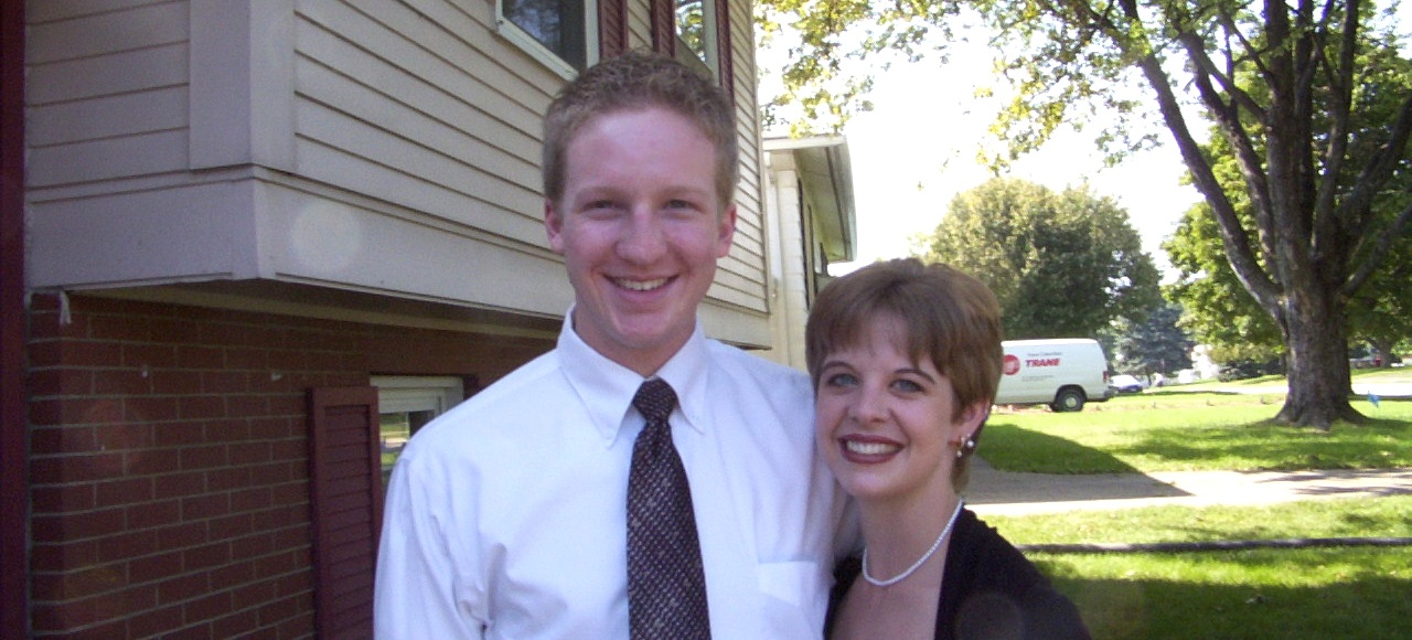My wife and I, in our younger years.