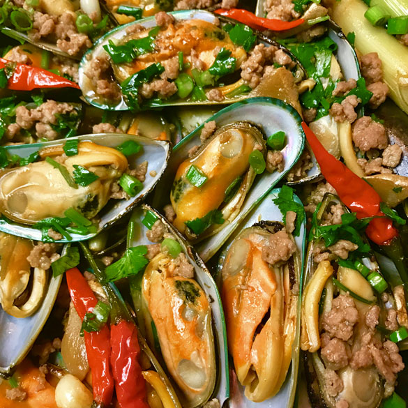 SPICY MUSSLES