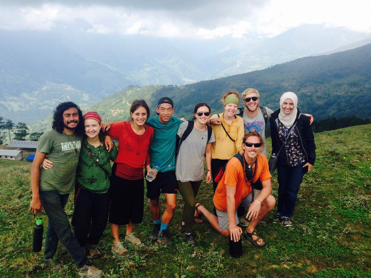 Took this beautiful group on a day hike to Gupha to rejuvenate ourselves in the beautiful Himalayas.