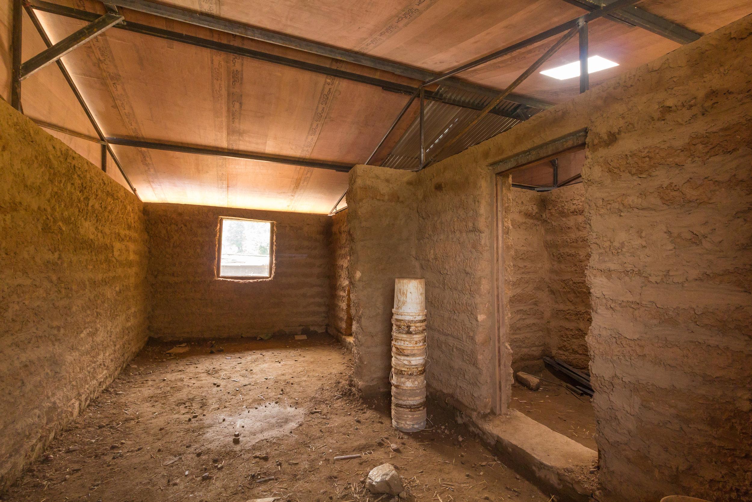 Sunita's Earthbag Home - Completed June 2017