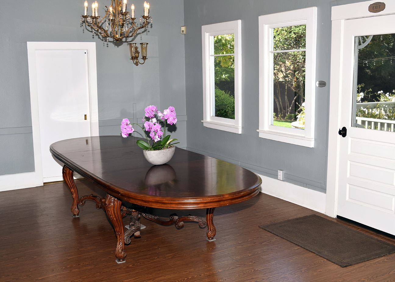 Interior: Dining Room Table