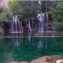 Hanging Lake by Glenwood Springs CO