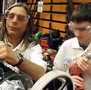 Daniel Radin   Advanced Science and Mathematics