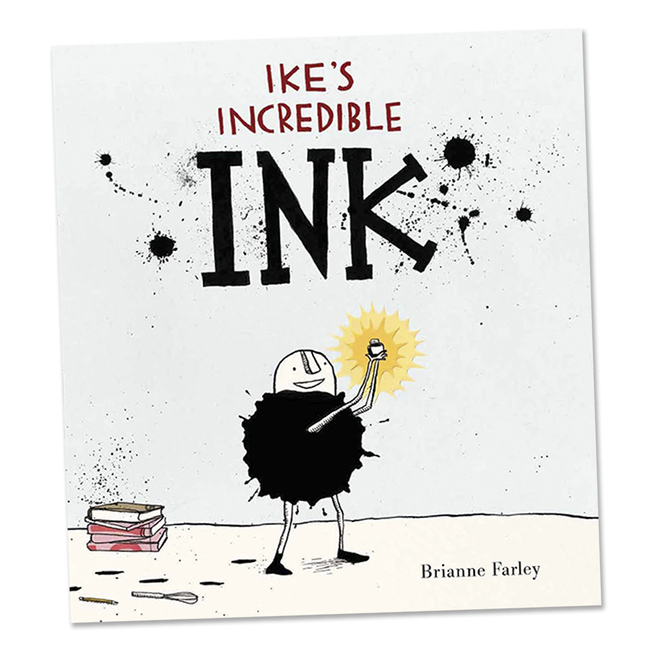 Ike's Incredible Ink  Candlewick Press August 2013
