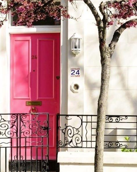 Nice colours topaint the front door