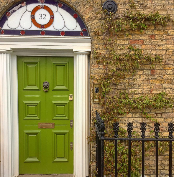Colour inspiration for the front door
